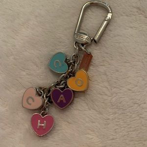 Coach keychain/purse chain
